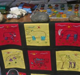Animal Wall Hanging, Zim Fair