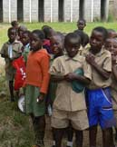 Latrines at Makumbi Orphanage