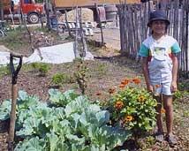 Paraguay Garden, girl