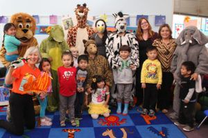 Even Start Preschool with African animals